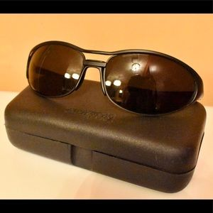 Arnette Steel Raven, Black, w/Replacement Lenses!
